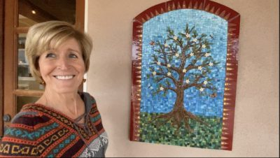 Tree of Life mosaic by Marsha Rafter